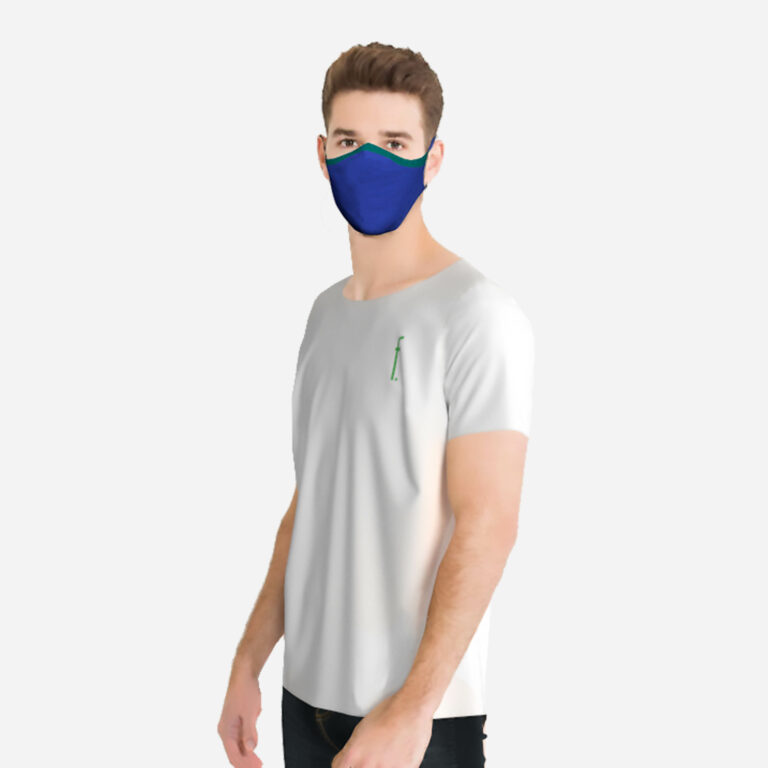Metail model with 3D knitted facial mask
