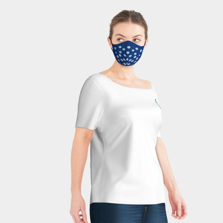 Skyler_3D_facial_mask_knitted_blue_navy_dot